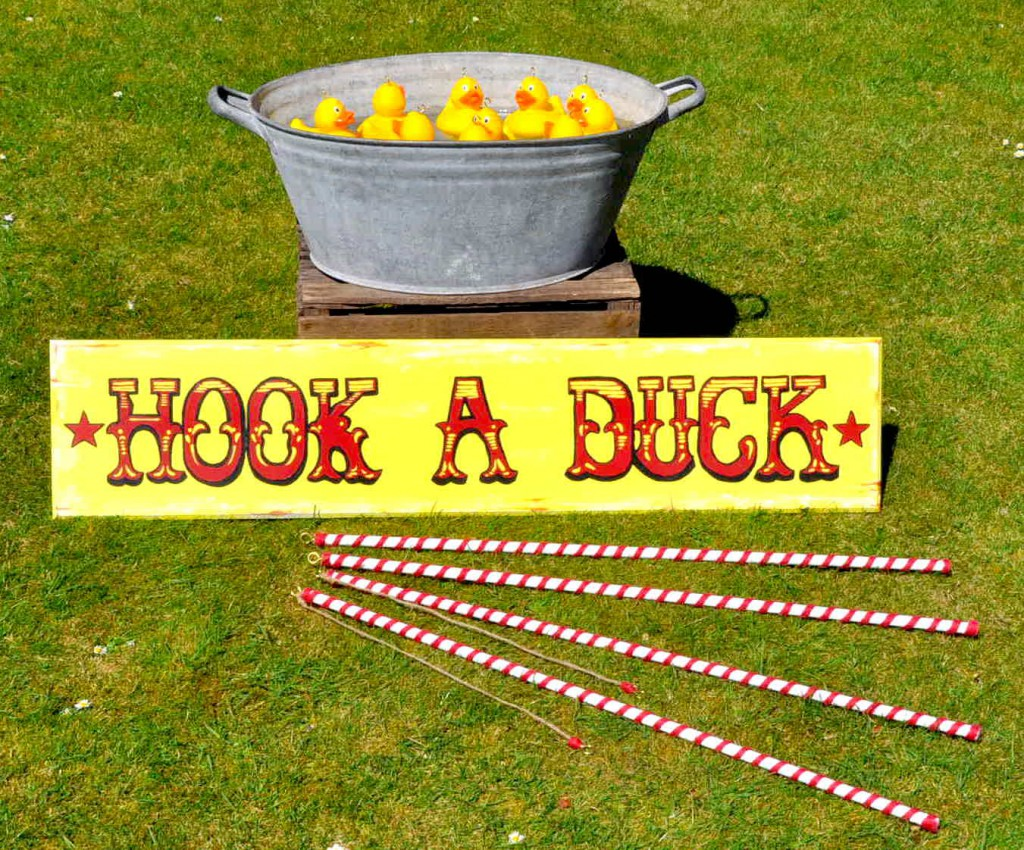 Hook A Duck Hire In Eastbourne East Sussex Rent Event
