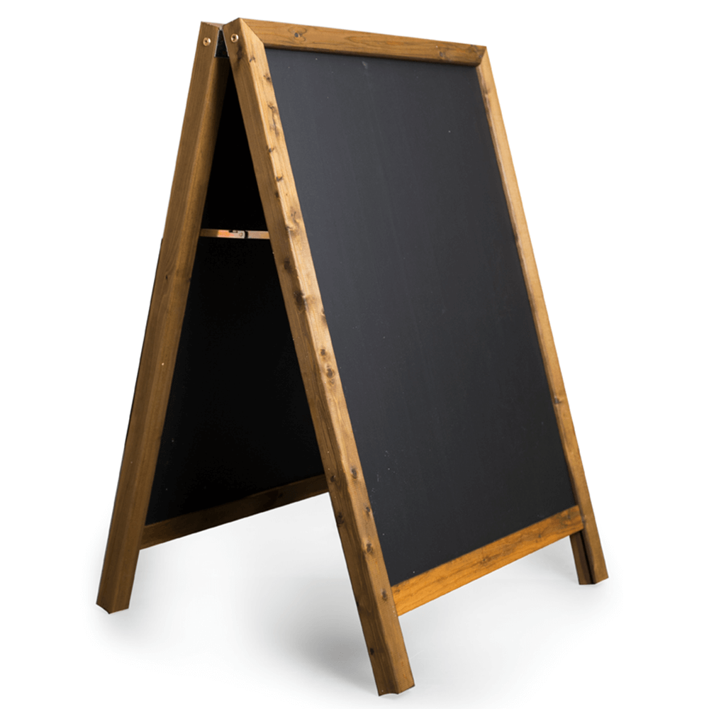 A Frame Chalkboard Sign Hire In Eastbourne Rent Event
