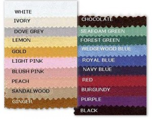 Pad-colours