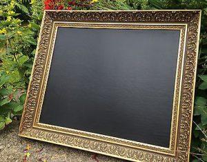 Gold-Chalkboard-Menu-Ornate-Chalkboard-Wedding-Chalkboard