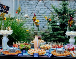 party-food-catering-table