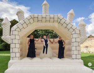 15ft-x-15ft-castle-theme-wedding-a-frame-bouncy-castle