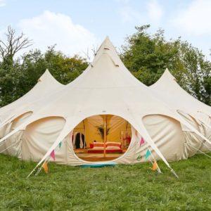 Lotus Mahal Tent